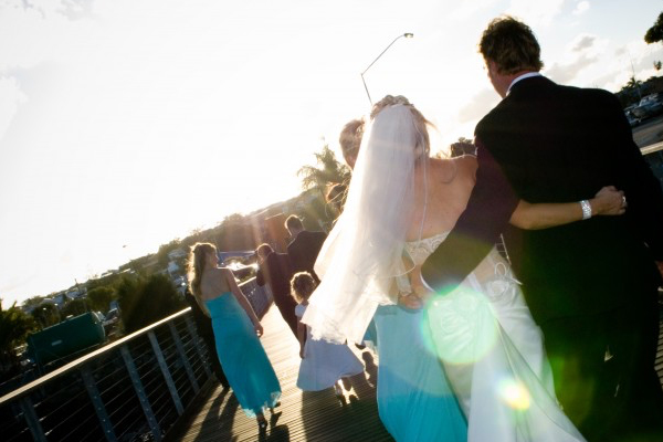 Wedding Couple at MBTBC - The Perfect Wedding Venue in Manly, Brisbane